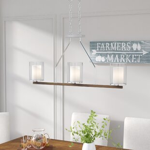 Rohrbaugh 3-Light Kitchen Island Pendant