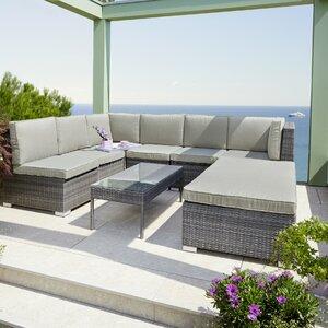 7-Sitzer Loungemöbel-Set Malibu von Greemotion..