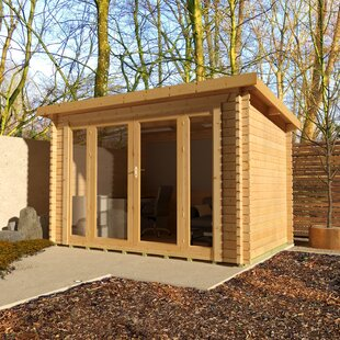 12 X 8 Ft. Tongue & Groove Log Cabin By Tiger Sheds