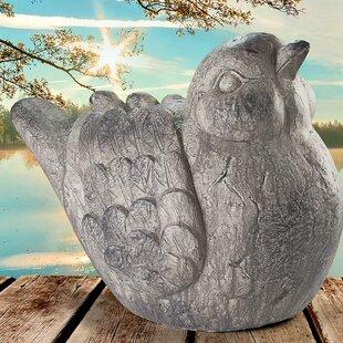 Design Toscano Fine Feathered Friend Chubby Bird Statue