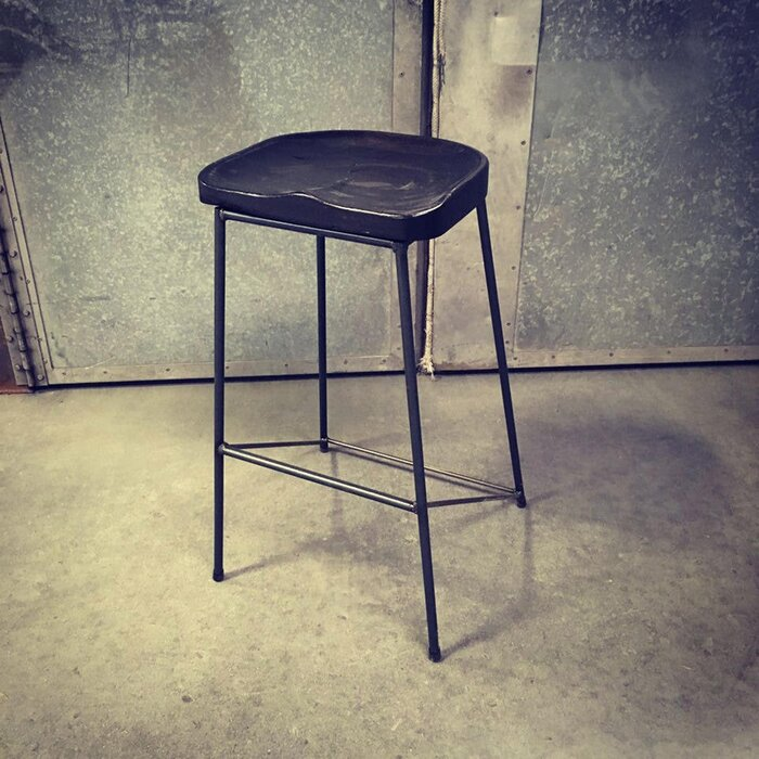 Pleasing Spinnaker Contoured Tractor Seat Bar Counter Stool Lamtechconsult Wood Chair Design Ideas Lamtechconsultcom