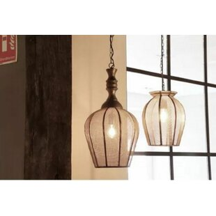 Bungalow Rose Crewe 1-Light Cone Pendant