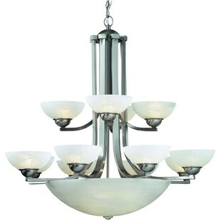 Dolan Designs Fireside 15-Light Shaded Chandelier