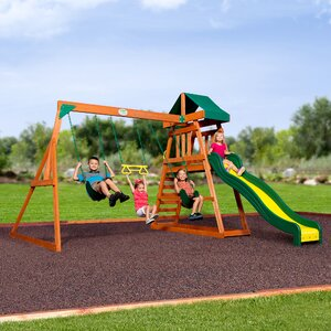 Prescott All Cedar Swing Set
