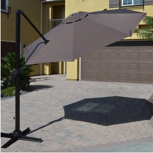 DHC Furniture 9.5' Cantilever Umbrella