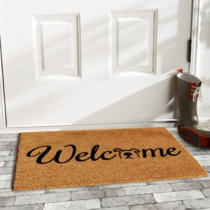 Horace Doggie Welcome Doormat