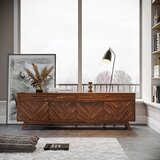 Chumasero Solid Wood TV Stand for TVs up to 85 by Corrigan Studio®