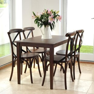 Celia Dining Set With 4 Chairs By Ophelia & Co.
