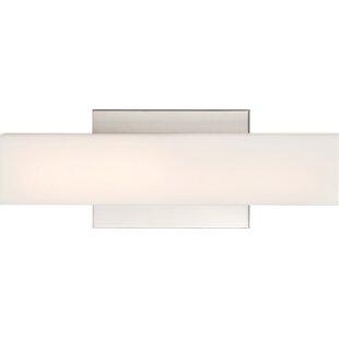 Orren Ellis Hook 1-Light LED Bath Bar