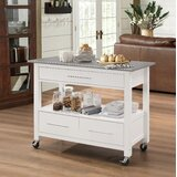 Madely Kitchen Cart by Latitude Run