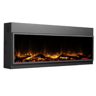 Harmony 45 LED Recessed Wall Mounted Electric Fireplace by Orren Ellis