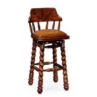31.5 Swivel Bar Stool by Jonathan Charles Fine Furniture