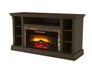 Allen TV Stand with Electric Fireplace