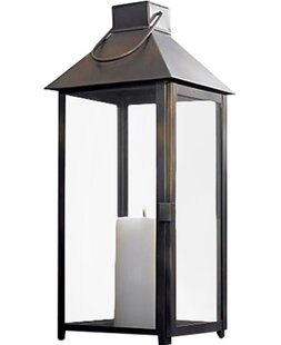 Steel Lantern by Brayden Studio