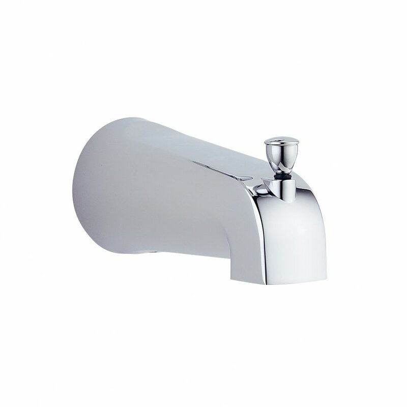 Delta Foundations Wall Mount Tub Spout Trim with Diverter & Reviews ...