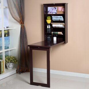 Compare Garibay Wall-In Floating Desk By Winston Porter