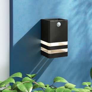 Boivin Outdoor Sconce With Motion Sensor By Zipcode Design