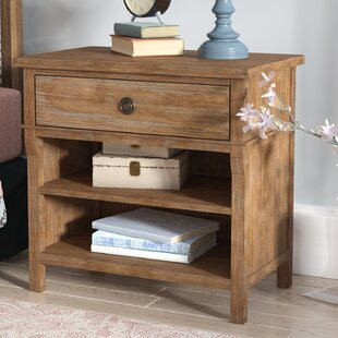 Searching for Grimaud 1 Drawer Nightstand by Lark Manor