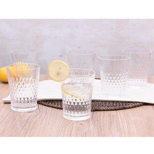 Gusman 14 oz. Plastic Every Day Glass (Set of 6)