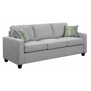 Where buy  Mcloughlin Wooden 3 Seater Sofa by Ivy Bronx Reviews (2019) & Buyer's Guide