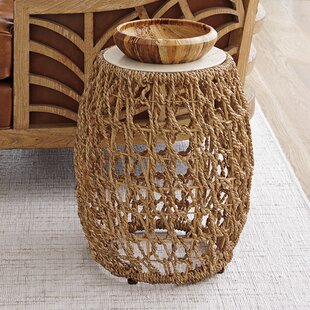 Los Altos Woven End Table by Tommy Bahama..