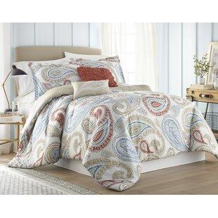 Raul 5 Piece Reversible Comforter Set
