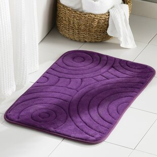 Wayfair Basics 2 Piece Circles Bath Rug Set