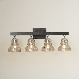 Comparison Demars 4-Light Vanity Light By Williston Forge