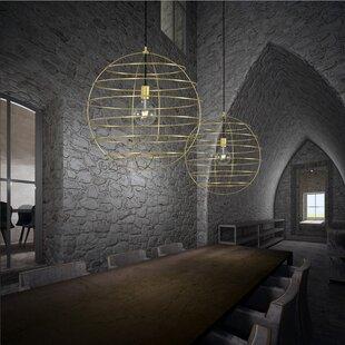 Sphere Suspension 1-Light Pendant by ZANEEN design