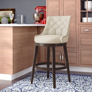 Daniel 24 Swivel Bar Stool with Cushion