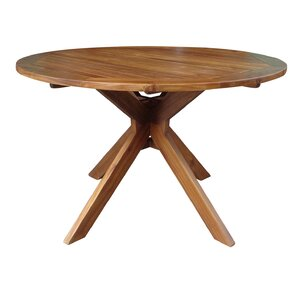 Swanson Wood Round Dining Table