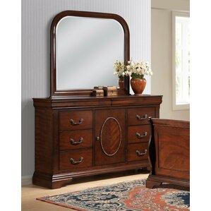 Babette 8 Drawer Dresser with Mirror by Picket House Furnishings