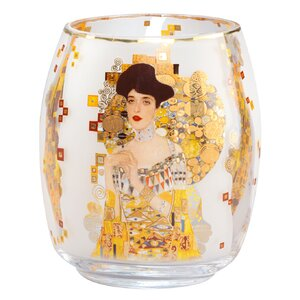 Adele Bloch-Bauer by Gustav Klimt Glass Storm Light
