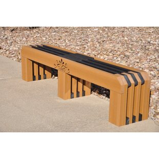 Frog Furnishings Gateway Recycled Plastic Park Bench