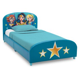 DC Super Heroes Twin Panel Bed by Delta Children