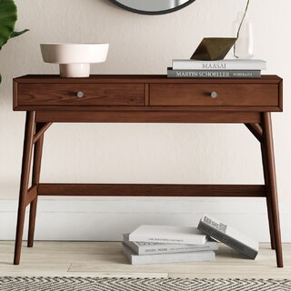 "Norberg 48"" Solid Wood Console Table by Mercury Row SKU:EE922510 Guide"