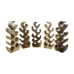Village Artistry 8 Bottle Wine Rack by Ec..
