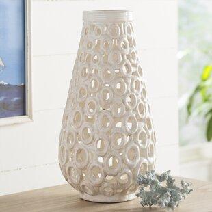 Ayushi Cut Out Ceramic Vase
