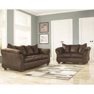 Cedillo 2 Piece Standard Living Room Set by Winston Porter