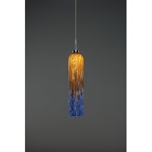 Chianti 1-Light Cylinder Pendant by Bruck Lighting