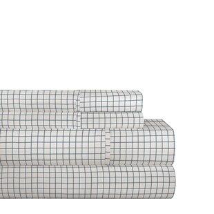 Lebow 200 Thread Count 100% Cotton Sheet Set ByAlcott Hill