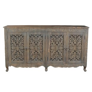 Aveliss 4 Door Accent Cabinet by Bungalow Rose