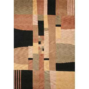 Best Reviews Tango Black/Beige Bubblerary Rug By Rizzy Home