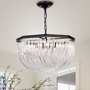 Charlton Home Fincastle 4-Light Bowl Pendant