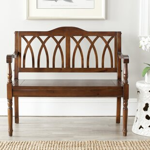 Reviews Hampton Wood Bench By Three Posts