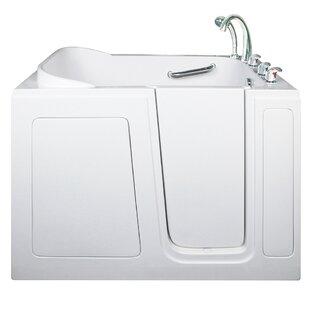 Ella Walk In Baths Short Long Hydrotherapy Massage Whirlpool Walk-In Tub; Right