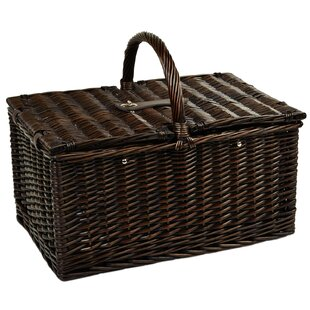 Surrey Picnic Basket with Coffee