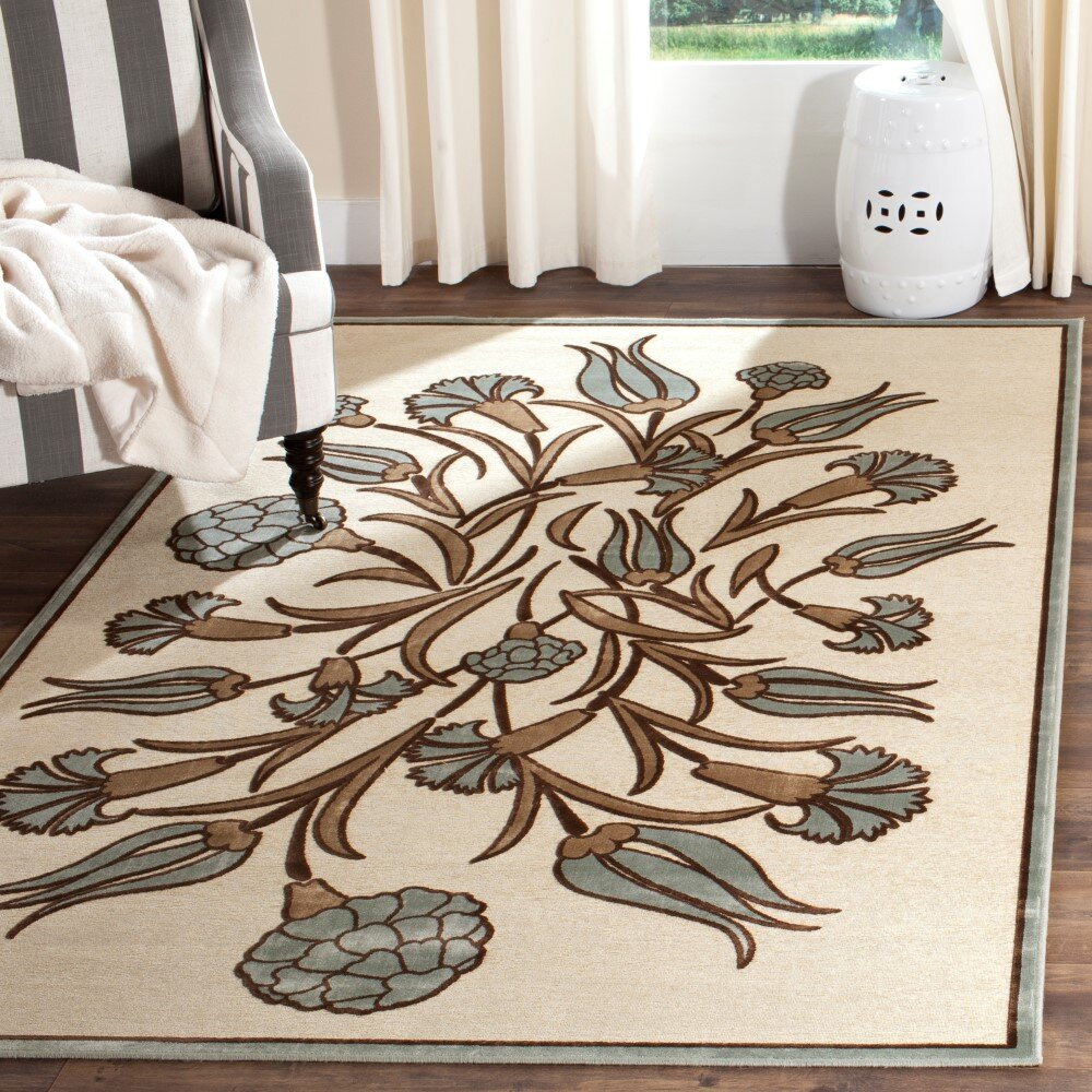 Green Viscose Area Rugs You Ll Love In 2021 Wayfair