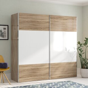 Gengler Sliding Door Wardrobe By Brayden Studio