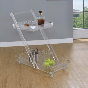 Frink Acrylic Bar Carts by Everly Quinn